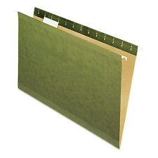 Pendaflex X-Ray Hanging File Folders No Tabs Legal Standard Green 25/Box 4153