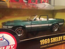 Ertl 1:18 1969 Ford Shelby GT-500 Convertible 1 Of 2500 Item 36680