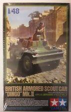 MAQUETTE MODEL KIT 1/48 BRITISH ARMORED SCOUT CAR DINGO Mk. II TAMIYA