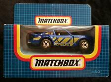 MATCHBOX MB-3 PORSCHE TURBO BLUE with YELLOW STRIPES - NEW in BOX
