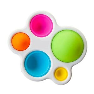 Simple Dimple Sensory Pop Fidget Toy Silicone Flipping Board Autism Kids Stress