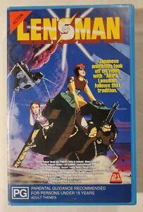 Lensman VHS 1984 Anime Film Yoshiaki Kawajiri 21st Century Pictures (Ex-Rental)