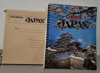 COLORFUL JAPAN VINTAGE ORIGINAL TOURIST PHOTOGRAPHY BOOK FUKUDA CARD Co. NEW