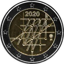 Universität Turku ◾ 2-Euro-Münze ◾ Finnland 2020 ◾ UNC Gedenkmünze aus Rolle bfr