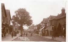 Station Road Addlestone Post Office Shop Nr Chertsey Weybridge  RP old pc 1912