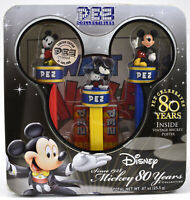 PEZ  MICKEY MOUSE GIFT TIN, LIMITED EDITION 2007