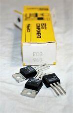 Ecg968 Pos 15V 1A Reg Integrated Circuit To-220 Repl Nte968 (qty. 3)