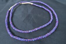 Antike Originale Vor 1945 Internationale Antiq. & Kunst Collier Alte Glasperlen Federperlen Old Venetian Feather Trade Beads Afrozip