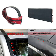 9m 30ft Waterproof Car Front Rear Windshield Roof Edge Trim Rubber Seal Strip
