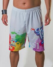 Footex Pantaloncini Beach Volley Paint Tennis Mare Sublimatici Padel