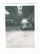 OLD TRANSPORT PHOTOGRAPH NORTHAMPTON BUS GARAGE VINTAGE 1957  (613)