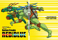 Teenage Mutant Ninja Turtles doujinshi (A5 140pages) Rotten Freaks RED AND BLUE