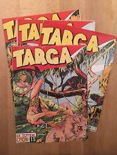 TARGA - Collection complète des 22 premiers numéros en grand format 1947/49 - BE