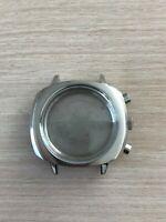 Chronograph Uhrengehäuse Retro für ETA Valjoux 7733 SWISS MADE Uhrwerk