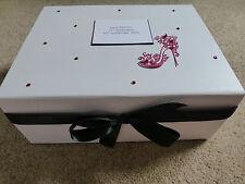 Large Personalised Memory Keepsake Box 18th 21st 30th 40th 50th 60th Hot pink