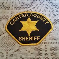 Carter County Sheriff Police Patch Applique Crest Logo