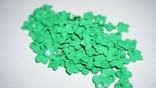 Lego Bright Green Plant Plate, Round 1 x 1 with 3 Leaves Lot of 70
