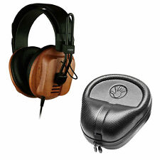 Fostex T60RP Semi Open Stereo Wood Cup Headphones w/ Slappa HP07 Hard Case