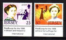 GB - Jersey 1996  - Michelnr 735 - 736 postfrisch (Frauen : 2112)