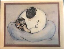 "R.C. Gorman "" Women With Bowl"" Navajo Tile Artwork Print & Signed"