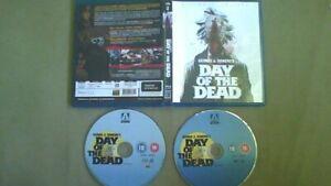 Blu-Ray DAY OF THE DEAD + Bonus DVD George A. Romero , Lori Cardille free postag