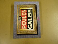 4-DVD BOX / HET PEULEN GALEIS - REEKS 1 & 2 ( BART PEETERS, HUGO MATTHYSEN... )