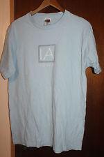 Vintage Iowa Blue T Shirt Size Medium Hawkeye State Fruit of the Loom