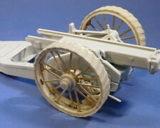 Resicast 1/35 WWI 8inch Gun Tractor Wheels for Roden/Thunder Model