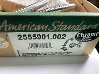 American Standard 2506901.002 Chrome Deck Mount Tub Filler W/ Personal Shower