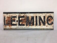 Iron Cast Iron Antique Signs For Sale Ebay
