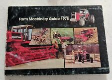 1978 Massey Ferguson Farm Machinery Guide 210 pages Tractors Combines Implements