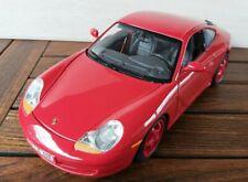 K.54) Burago Porsche Carrera 911 1:18