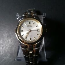 Citizen eco-drive womens GN-4S-W 9 two tone pearl faced watch