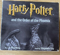 Harry Potter - Order of the Phoenix read by Stephen Fry Jk Rowling