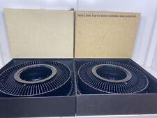 Lot Of 2 Vintage Kodak Carousel 80 Slide Trays In Original Boxes