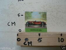 STICKER,DECAL CRYSLER 1931 VINTAG CAR OLDTIMER