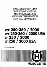 buy wr yamaha motorcycle manuals literature ebay rh ebay co uk 2000 husqvarna wr 250 manual 2005 husqvarna wr250 manual