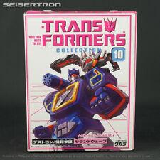 SOUNDWAVE + LASERBEAK Transformers Collection 10 complete G1 Takara 2003 BKY