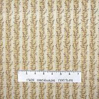 Rustic Country Fabric - Susanna Circa 1848 Beige Stripe - Free Spirit YARD