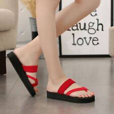 Summer Fashion Womens Slippers Flip Flops Flat Sandals Beach Open Toe Shoes