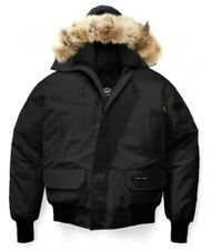New Canada Goose Chilliwack Coyote Fur Hood Bomber Jacket 2XL  BLACK  Sold out