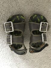 Infant Size 6 Boys Grey Sandals Brand New Never Worn