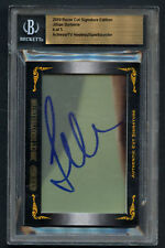 Jullian Barberie Actress & Sportscaster signed autograph auto 2010 Razor Cut Sig