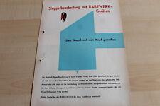 144571) Rabewerk Schälpflug Gimpel - Fink - Prospekt 07/1968