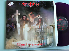 LP ITALY 1991  Death SS - Where have you gone?  PURPLE VINYL   Paul Chain
