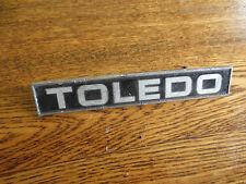 Original Triumph Toledo car badge