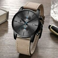 Chronograph MvMt Style CHEETAH Brand Fashion Date Casual Quartz Leather Watch