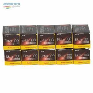 KODAK Ektar 100 Professional Negativ-Farbfilm, 135-36, 10 Stück