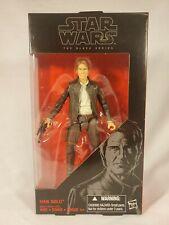 Hasbro Star Wars Black Series 6 Inch #18 Han Solo NIB Action Figure