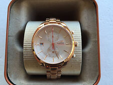 NWT Fossil Women's Land Racer CH2977 Rose Gold Stainless-Steel Quartz Watch